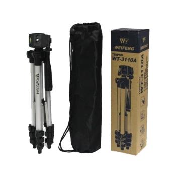 Tripod With 3-Way HeadTripod for Nikon D7100 D90 D3100 DSLR SonyNEX-5N A7S Canon 650D 70D 600D WT-3110A - 5