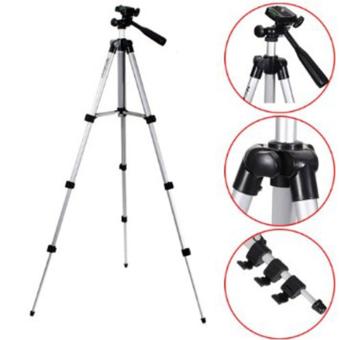 Tripod With 3-Way HeadTripod for Nikon D7100 D90 D3100 DSLR SonyNEX-5N A7S Canon 650D 70D 600D WT-3110A - 3