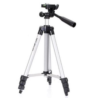 Tripod With 3-Way HeadTripod for Nikon D7100 D90 D3100 DSLR SonyNEX-5N A7S Canon 650D 70D 600D WT-3110A - 2