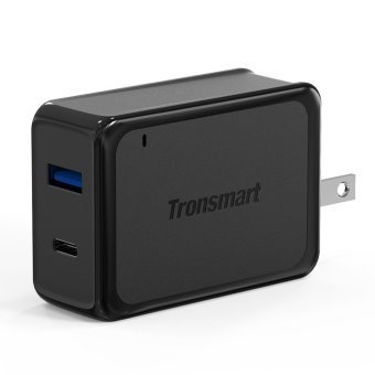 Tronsmart W2PTU Quick Charge 3.0 33W Dual USB Type C Wall Charger