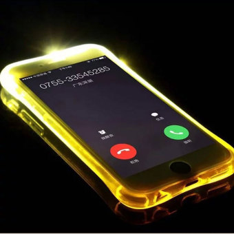 TTLIFE Colorful Flashing phone calls case iPhone6 /6S inch 4.7 emitting (orange) Price Philippines