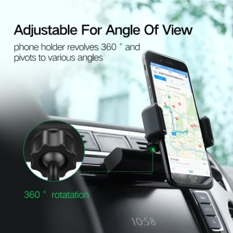 UGREEN CD Slot Car Holder Universal Clip Phone Car Mount Holder for 3.5-7 inches mobile phone - intl - 5