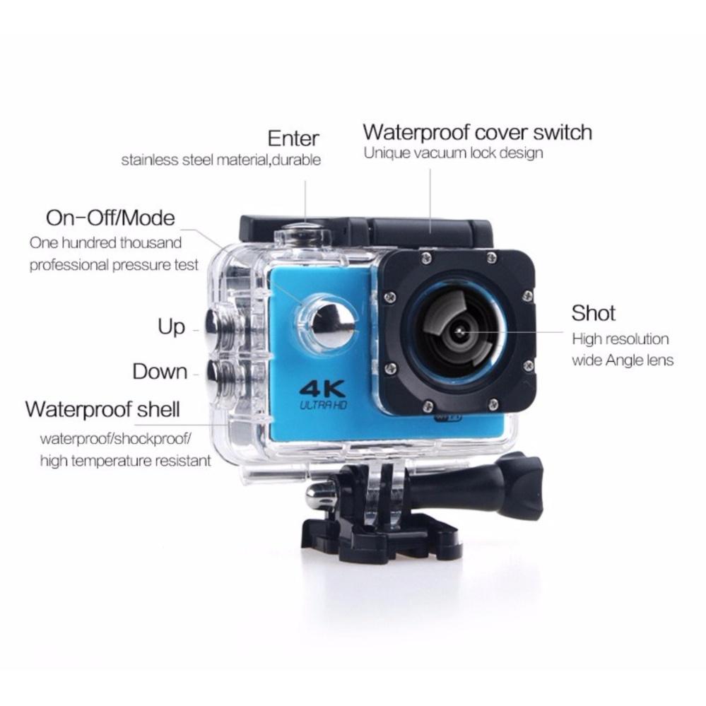 Philippines Ultra Hd 4k Wifi Action Camera Sport Dv Lcd 170d Len Sportcam 16 Mp 1080p Helmet Underwater Go Diving