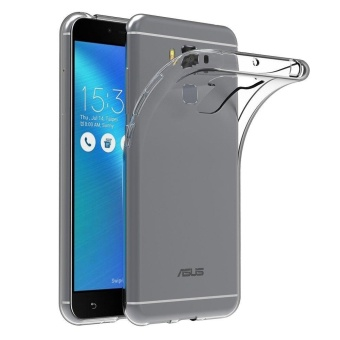 "Ultra Slim Bumper Case Cover for Asus Zenfone 3 Max ZC553KL 5.5""Soft TPU Transparent Protector Price Philippines"