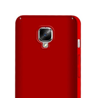 Ultra Slim Fit Hard PC Snap-On Case Cover for OnePlus 3T - Red -intl - 4