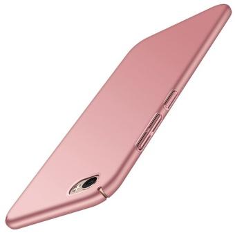 Ultra Slim Fit Shell Hard Plastic Full Protective Anti-ScratchResistant Cover Case for Vivo Y66 / V5 Lite (Silky Rose Gold) -intl - 2