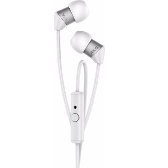Ultra Small Canal Earphone Smartphone with Remote Control White with Microphone Y23UWHT - intl