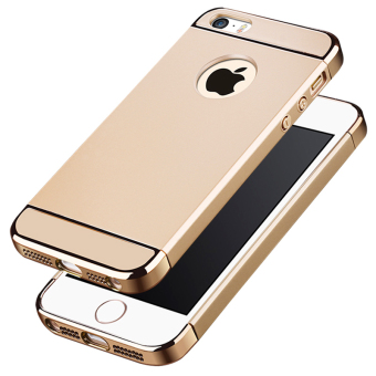 iphone 5s gold case. ultra thin 3 in 1 combo case for apple iphone 5 / 5s se ( iphone 5s gold