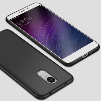 Ultra Thin PC Case For Xiaomi Redmi Note 4X Hard Shell CoverAnti-Slip Matte Coating Black - intl - 2