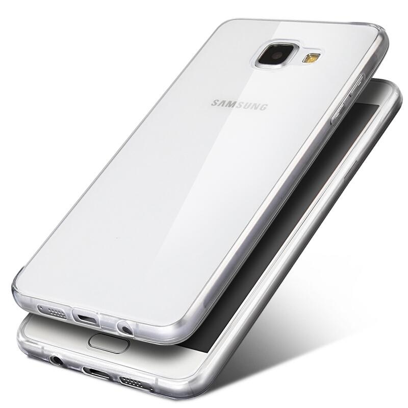 Ultra-thin Soft TPU Clear Case Crystal Transparent Slim Anti SlipCase Back .