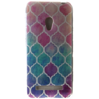 Ultra Thin Soft TPU Phone Back Case Cover For Asus Zenfone 5(Diamond)