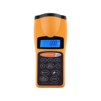 Ultrasonic Distance Measure Laser Point LCD Backlight CP-3007