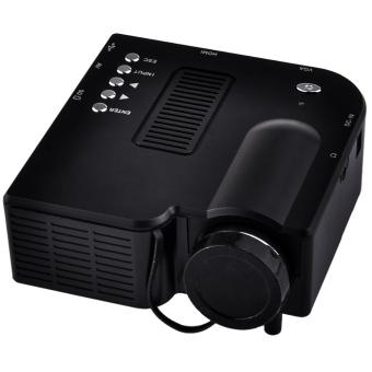 Unic UC28 Mini Portable Projector (Black)