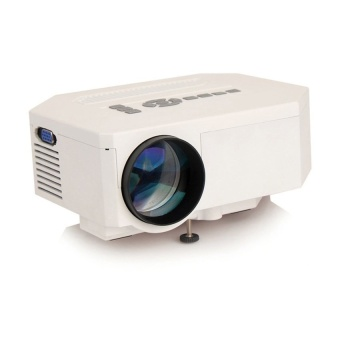 Unic Uc30 Mini Portable Projector (White) with Free Kds Beats-0022 100Db Stereo Subwoofer Over-The-Ear Headphones (Black)