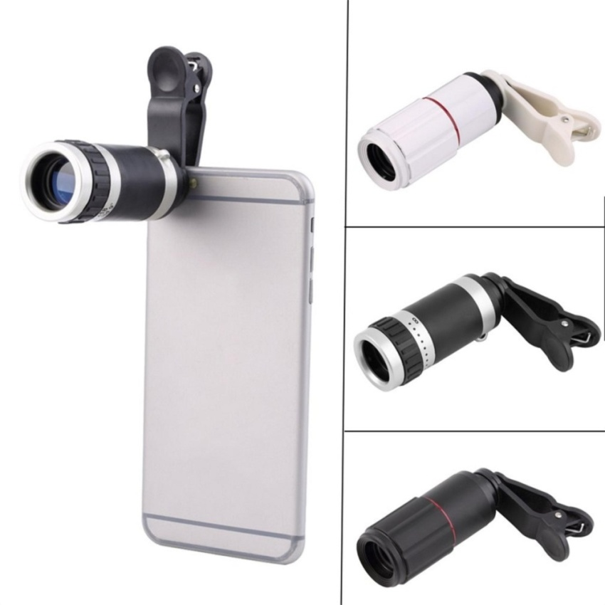 Universal clip 8-18x zoom phone lens Universal 8-18x Zoom OpticalMobile Phone Telescope Telephoto Camera Len and Clip - intl Price Philippines