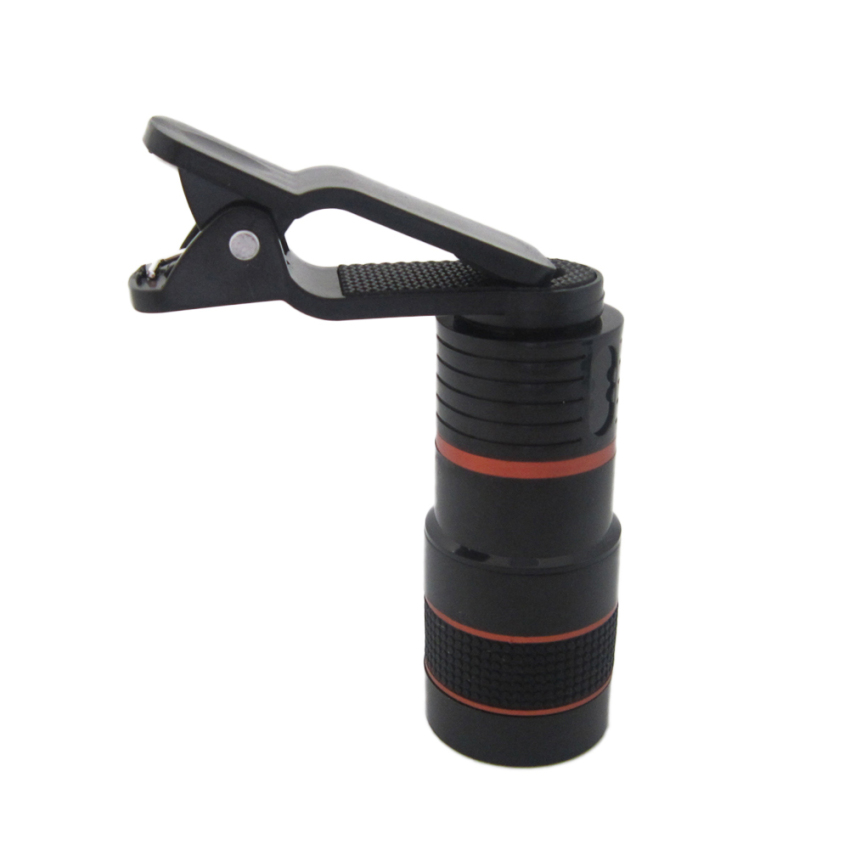 Universal Clip-on 8x Zoom Camera Lens Telescope Telephoto foriPhone - intl