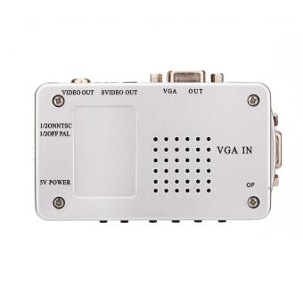 Universal Converter PC VGA to TV AV RCA Signal adapter converter - 4