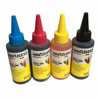 Universal Dye Ink Package 100ml Set of 4 (Black, Cyan,Magenta,Yellow) High quality