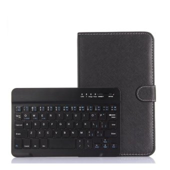 Universal Wireless Bluetooth Keyboard Holster Flip PU Case Cover For Cellphone In 4.5''-6.5'' - intl - 2