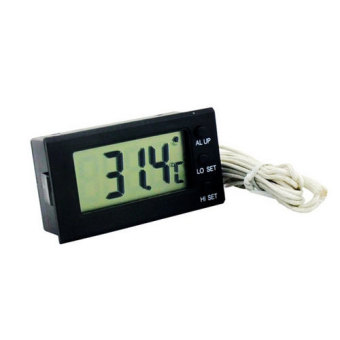 Uplift T-15 Digital Thermometer with High Low Alarm (Black)