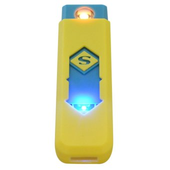USB Electronic Cigarette Lighter (Yellow) - picture 2