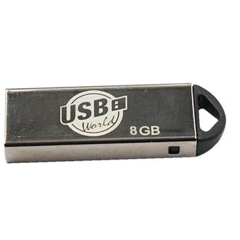 USB World Sprint 8GB Flash Drive (Silver)