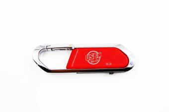 USB World Ultra 8GB USB Drive (Red)