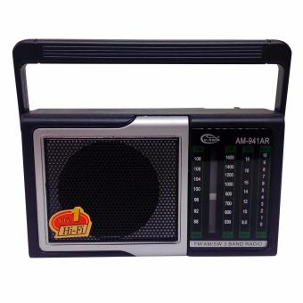 V-Talk FM/AM Portable Rechargeable Radio