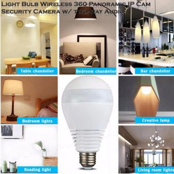 V380s Light Bulb Wireless Wi-fi 360? Panoramic IP Cam Security Camera w/ two-way Audio, Real time View - 5