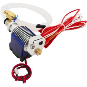 V6 Long Distance J-head Hotend 0.3mm Nozzle for 1.75mm Wade Extruder with Cooling Fan for Makerbot Reprap 3D Printer - intl