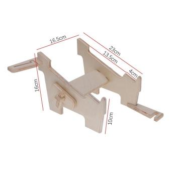 Vanker-Wooden Radiating Dock Holder Stand Heat Dissipation ForLaptop iPad MacBook Cell Phone - intl - 4