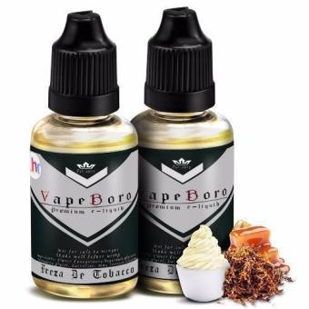Vapeboro Premium E-Juice for Electronic Cigarette 30ml 3mg NicotineLevel Set of 2 (Freza De Tobacco)