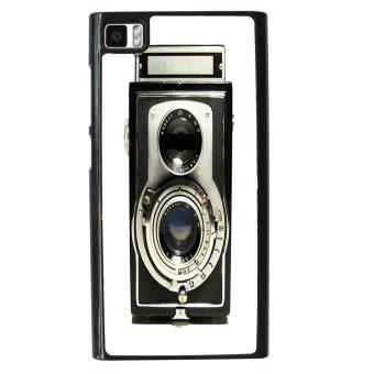 Vintage Camera Pattern Phone Case for Xiaomi Mi3 (Multicolor)