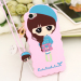 VIVO y55/y55/VIVO y55a cartoon lanyard halter female phone case