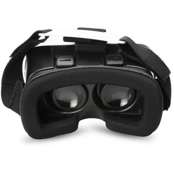 VR Box 3D Virtual Reality Glasses for Smartphone (White/Black) - picture 2