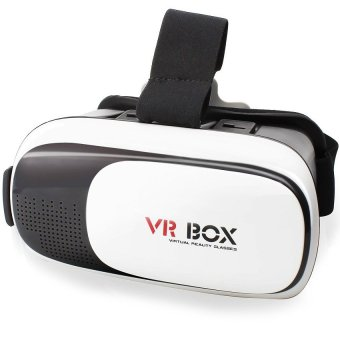 VR Box 3D Virtual Reality Glasses for Smartphone (White/Black)