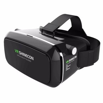 VR Box Shinecon Smartphone 3D Virtual Reality Glasses (Black)