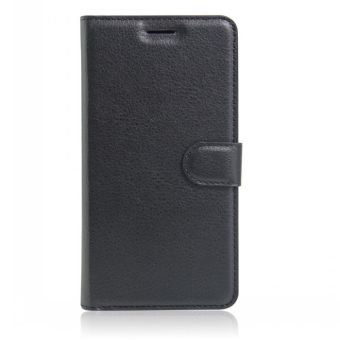 Wallet Flip Leather Case Cover For Oppo A37 / Oppo Neo9 (Black) - intl - 3