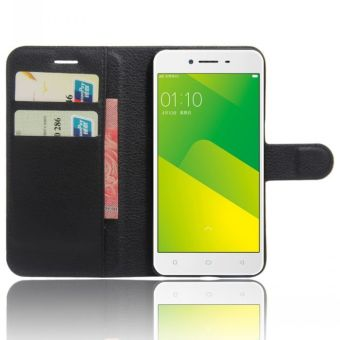 Wallet Flip Leather Case Cover For Oppo A37 / Oppo Neo9 (Black) - intl - 4