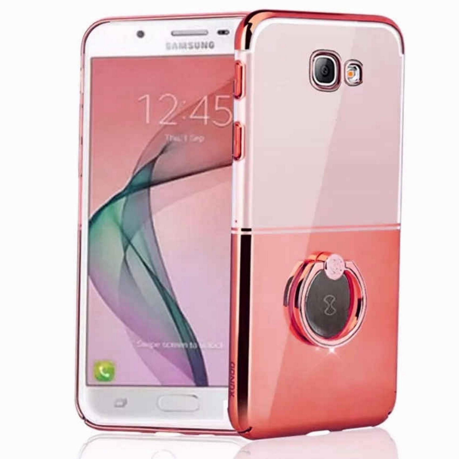 Waltz i-Ring Series for Samsung Galaxy J7 Prime (Rose Gold)