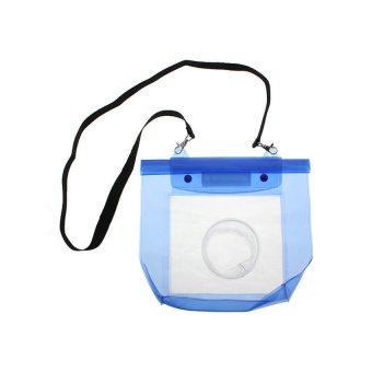 Waterproof 20M Housing Dry Bag Pouch for DSLR SLR Camera Canon EOSNikon (Blue) - 5
