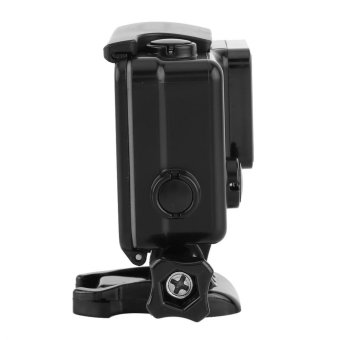 Waterproof ABS Housing Protective Case With Touchable Backdoor For Gopro Hero 4/3+ Camera(Black) - intl - 3