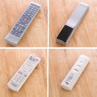 waterproof Home air conditioning TV remote control sets of siliconeprotective cover and dust jacket Bag(Size:M) - intl