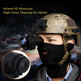 Waterproof Infrared IR Monocular Night Vision Telescope Device forHelmet - intl