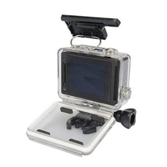 Waterproof Protective Housing Case for GoPro HERO4 Silver / GoPro HERO4 BLACK / GoPro Camera HERO3+ - intl - 5