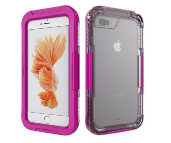 Waterproof Sports Diving Protective Case For Apple iPhone 7 Plus(Pink) - 2