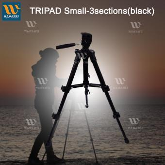 Wawawei Precise 3 Section Aluminium Tripod For Android iPhone(Black)