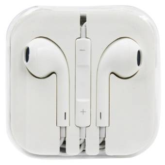 Wawawei Stereo Earphones with MIC (White)