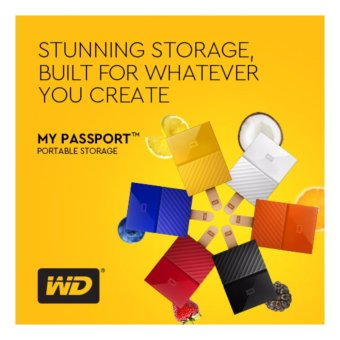 WD My Passport 2017 2TB USB 3.0 Portable External Hard Drive (Black) with FREE WD Soft Pouch, WD Kroll OnTrack and Neo Premium Wireless Mouse - 3