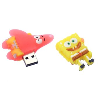 WHD Sponge Bob 8GB Flash Drive (Yellow/Pink) - picture 2